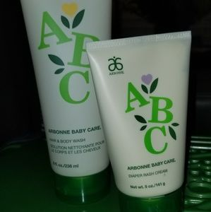 ABC baby care items